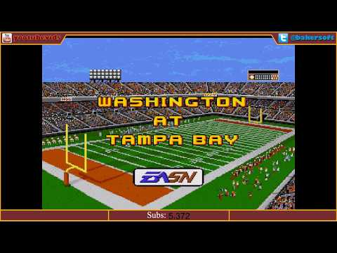 Madden '92 Tournament Simulation: Washington @ Tampa Bay