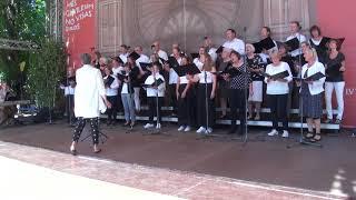 00158 Koris MATTHEW-AFTEREIGHT Ārvalstu viesu kolektīvu koncertā Vērmanes dārzā 8.07.2018