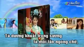 Karaoke LK CHUYEN TAU HOANG HON .MUA RUNG