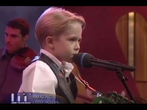 7 Year Old Hunter Hayes On Maury!