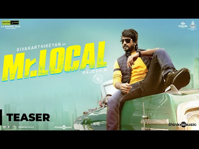 Mr.Local Official Teaser | Sivakarthikeyan, Nayanthara | Hiphop Tamizha | M. Rajesh