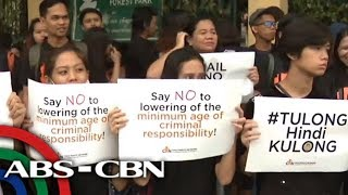 The World Tonight: Child rights advocates hold protest outside Senate