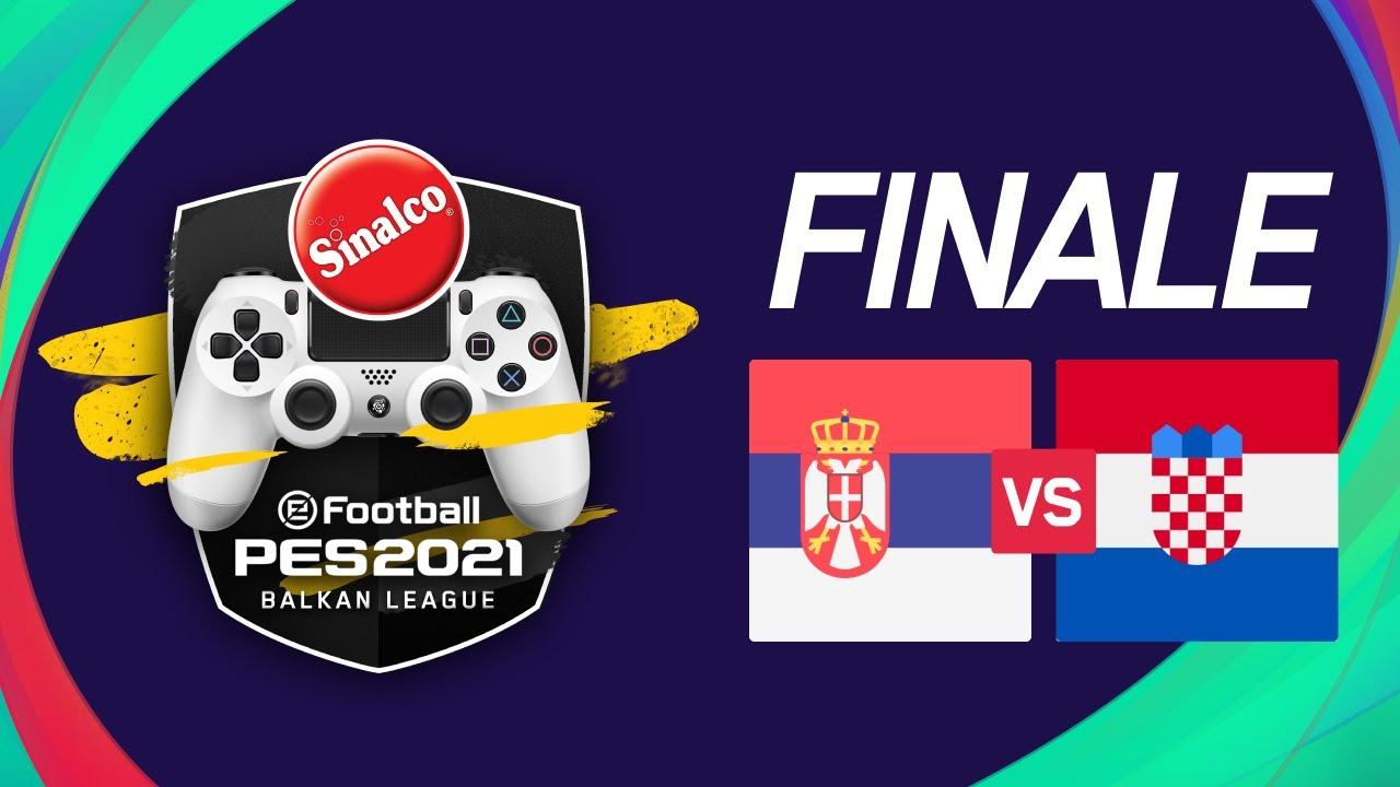 Finals PES: Croatia vs Serbia