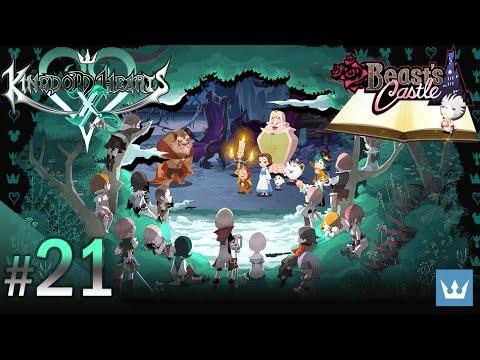 #21 - KINGDOM HEARTS x [chi] - English Walkthrough — Beast's Castle, Part 1