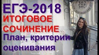 видео Об итоговом сочинении 2018