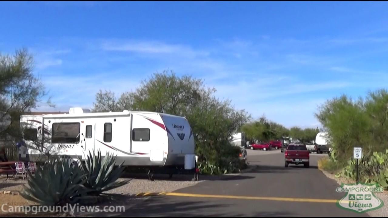 Desert Trails RV Park Tucson Arizona AZ - CampgroundViews com