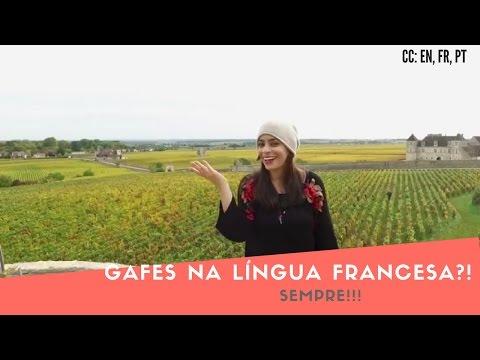 Gafes na língua francesa