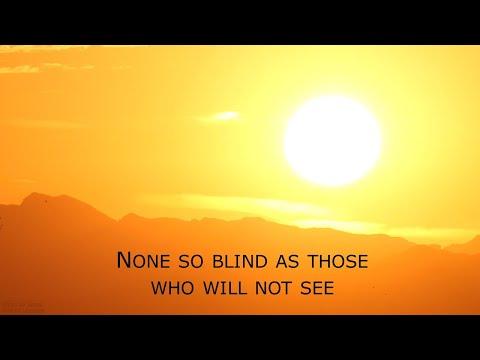 None So Blind by JA González Sainz review: man on the margins
