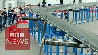 Facebook readies internet drone test - BBC News