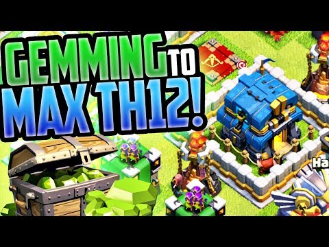 HOW MUCH Does a MAX Town Hall 12 in Clash of Clans Cost?
