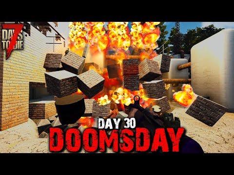 7 Days To Die: Doomsday - Day 30 | 7 Days To Die (Alpha 18 Gameplay)