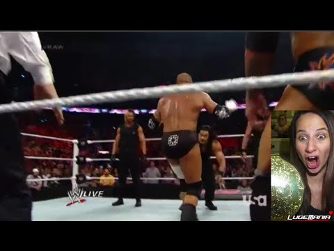 WWE Raw April 7, 2014 Daniel Bryan vs Triple H with The Shield FACETURN Live Commentary
