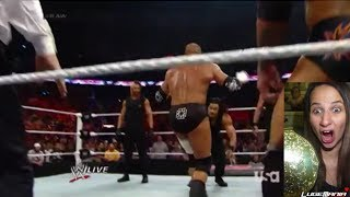 WWE Raw April 7, 2014 Daniel Bryan vs Triple H with The Shield FACETURN Live Commentary thumbnail