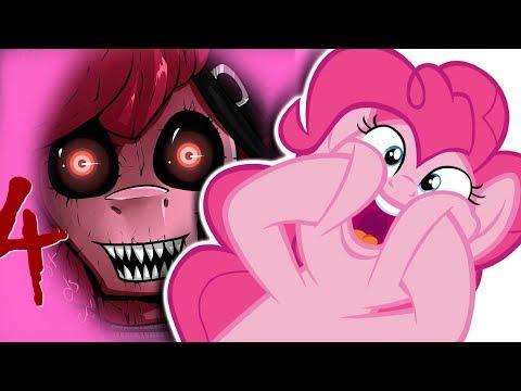 Pinkie Pie (kinda) plays Five Night's at Pinkie's 4