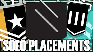 Solo Smurf: The First Placement - Rainbow Six Siege