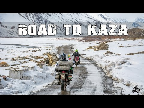 Road to kaza - Winter ride to Spiti Himalayas - Day 4