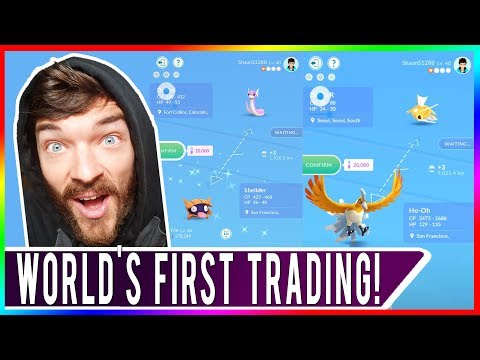 WORLD'S FIRST TRADING IN POKEMON GO! Trading Update Is Live Now Let's Be Friends! Gifting & Trade