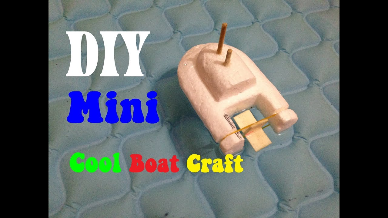 How To Make A Cool Boat Craft
