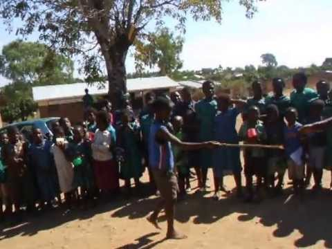 Malawi - Namwiyo Primary's first ever Sports Day 2013