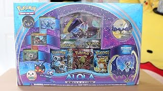 Opening The Best Pokemon Moon Alola Collection Box!