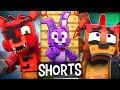 Gambar cover SHORTS 1-4 COMPILATION - Fazbear and Friends FNAF Minecraft Series
