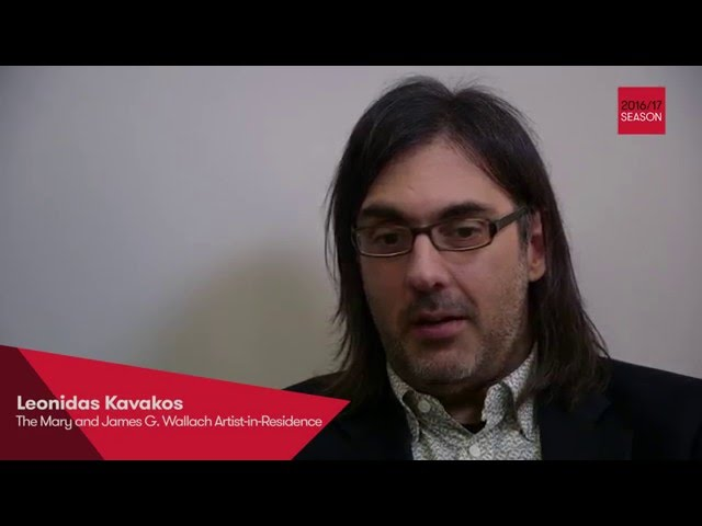 Leonidas Kavakos, The Mary and James G. Wallach Artist-in-Residence 2016-17