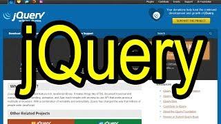 JQUERY. Что такое. Подключение библиотеки jquery. JavaScript. Программирование.Уроки. Обучение. Курс