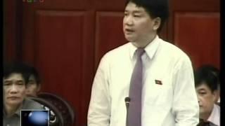 Chất vấn bộ trưởng Đinh La Thăng ngày 24/4/2012