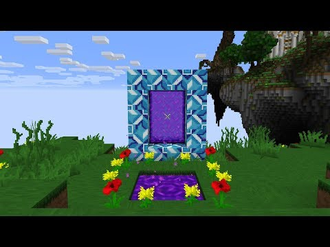Minecraft: How To Make A Portal To The Twilight Forest - (Minecraft Portal To Twilight Forest)