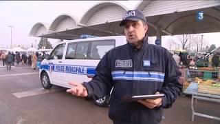 À Chalon-sur-Saône, le poste mobile de la police municipale fait sa première sortie