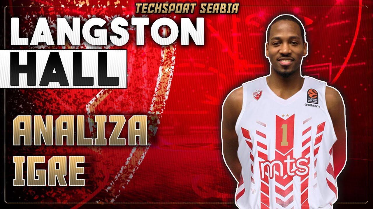 Langston Hall - Analiza igre   KK Crvena zvezda 2020/21