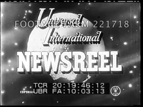 Universal Newsreel Spinning Globe Titles 221718-23 | Footage Farm