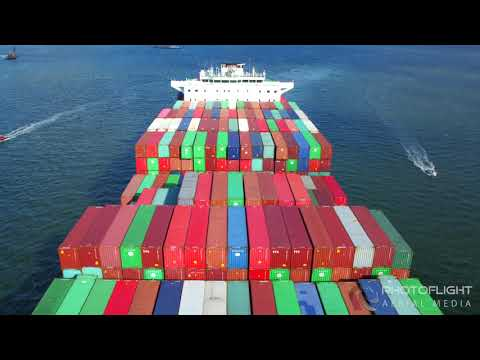 Marine Shipping, Commercial Ship Drone Video Reel  NY, NYC, NJ, CT, MA Aerial Drone Photography and