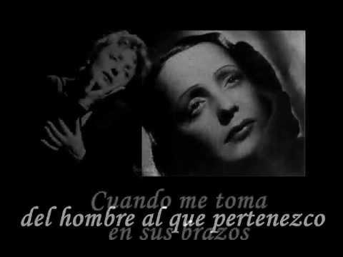 LA VIE EN ROSE -Edith Piaf (subt. español)