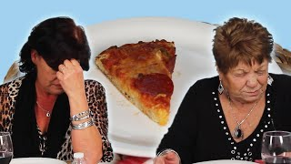 Download Italian Grandmas Try Frozen Pizza For The First Time Mp3 and Videos