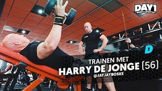 Hardcore Bodybuild Chest Workout met Harry de Jonge (Muscle & Fitness) || #DAY1 Afl. #41