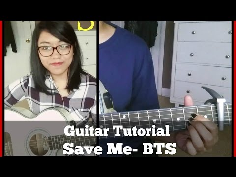 [Guitar Tutorial] Save Me by BTS (방탄소년단) [기타 레슨]