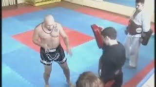 Андрей Кочергин. Работа на снарядах 2