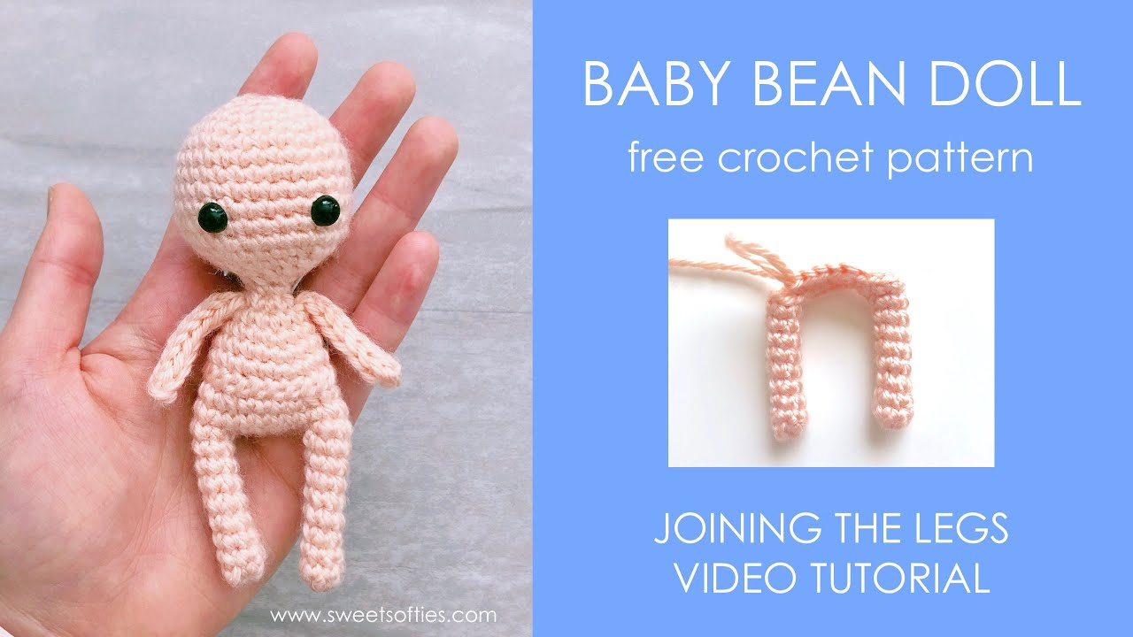Amigurumi Baby Doll Free Pattern | Padrão de boneca de crochê ... | 720x1280