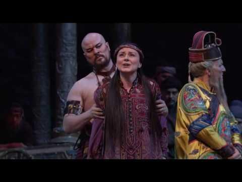 Anita Hartig   Scene of Liu s death Puccini   TURANDOT, MetOpera, 30 01 2016