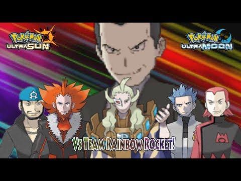 Pokemon Ultra Sun and Ultra Moon: Vs Team Rainbow Rocket (Pokemon Team Rocket)