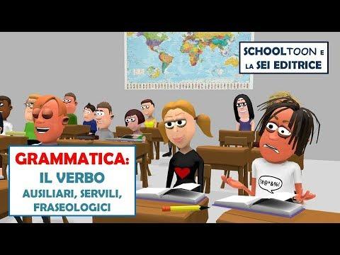 Grammatica I Verbi Ausiliari Servili E Fraseologici Youtube