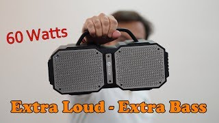 Zoook ZB-Rocker Volcano 60 Watts TWS Bluetooth Speaker - Perfect Party Speaker