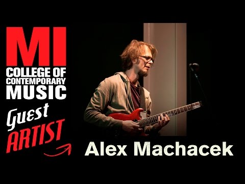 Alex Machacek: Music Education