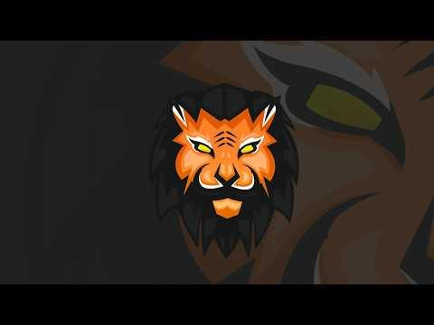 Tiger Mascot Logo Speedart