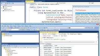 VB.NET - How to Connect to SQL Server 2014 Database
