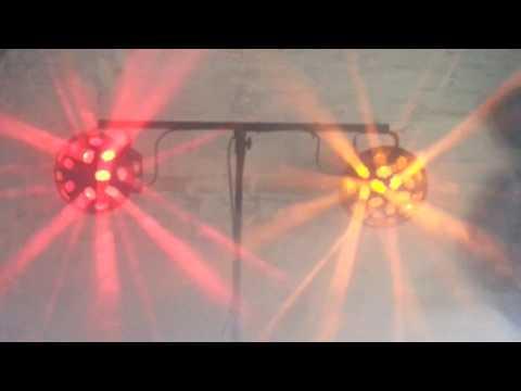 ADJ Vertigo Tri vs ADJ Vertigo Hex beam test