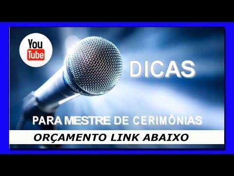 DICAS MESTRE DE CERIMÔNIAS from YouTube · Duration:  4 minutes 48 seconds