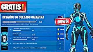CALAVERA SOLDIER CHALLENGES **FREE** in FORTNITE: Battle Royale New