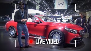 Mercedes-Maybach S 650 Cabriolet | Salone di Los Angeles 2016